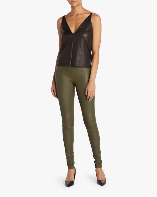 Stouls Stretch Leather Pants 1