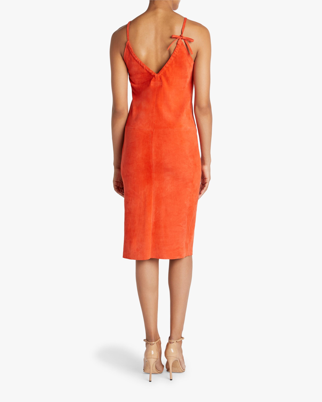 Stouls Edna Ruched-Neckline Midi Dress 2