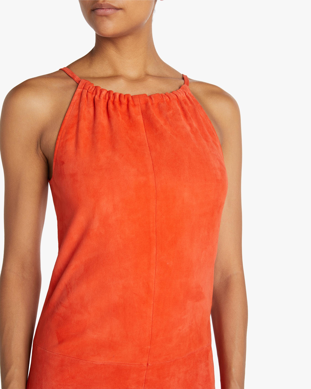 Stouls Edna Ruched-Neckline Midi Dress 3