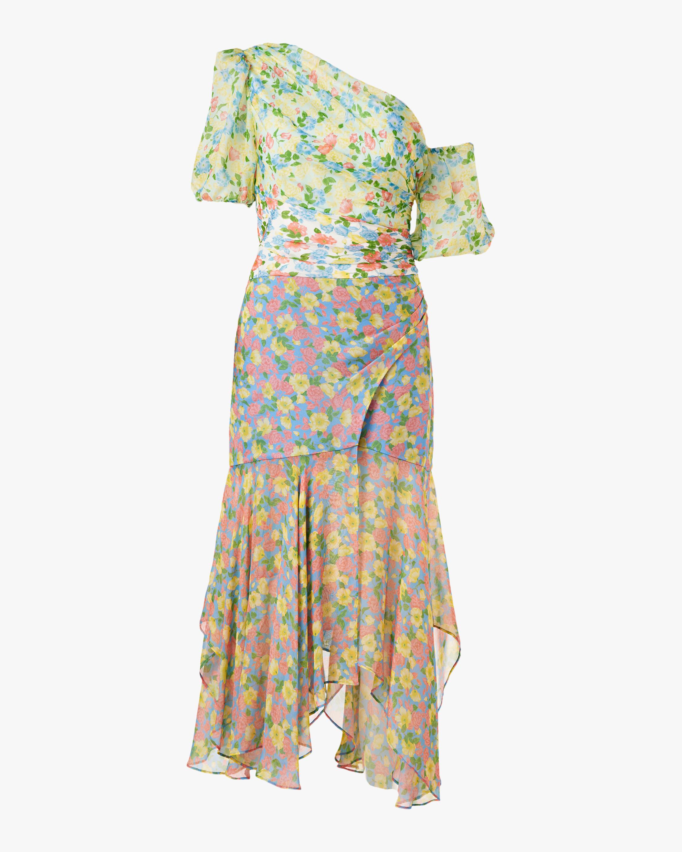 Amur Jaylah One-Shoulder Dress 0