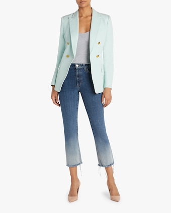 The Callie High-Rise Cropped Boot-Cut Jeans