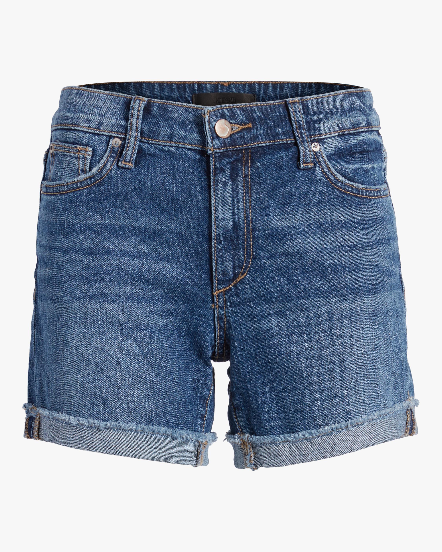 Joe's Jeans Bermuda Frayed-Cuff Shorts 1