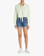 Joe's Jeans Bermuda Frayed-Cuff Shorts 1