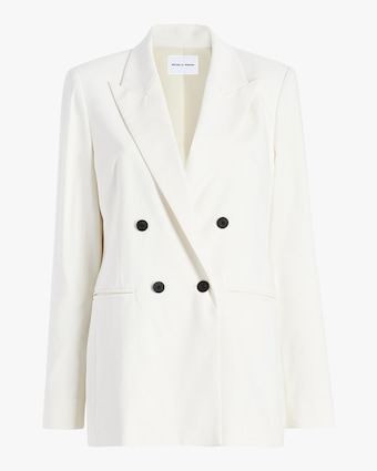 Michelle Waugh The Joann Oversized Boyfriend Blazer 1