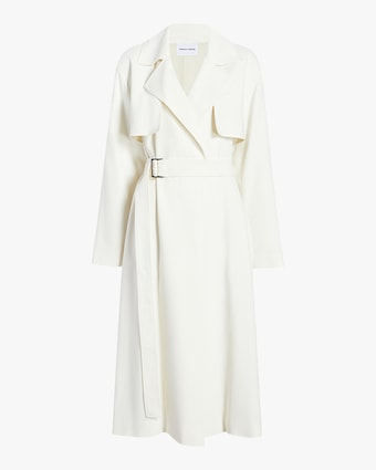 Michelle Waugh The Carina Oversized Belted Trench Coat 1