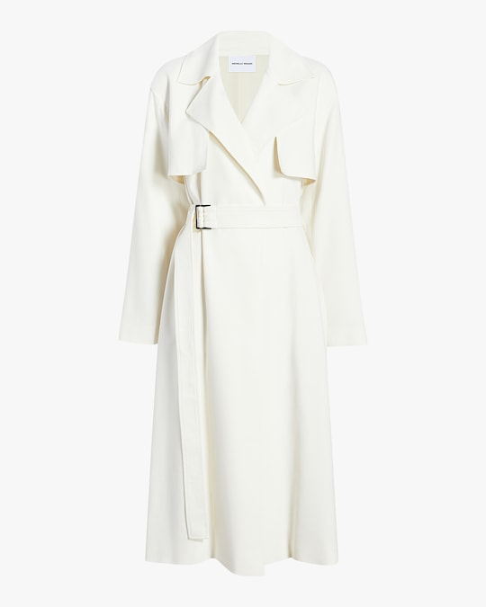 Michelle Waugh The Carina Oversized Belted Trench Coat 0