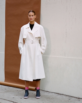 The Carina Oversized Belted Trench Coat