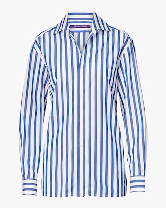 Capri Striped Cotton Shirt