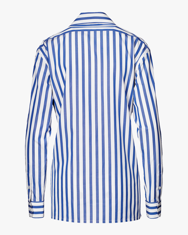 Ralph Lauren Collection Capri Striped Cotton Shirt 3