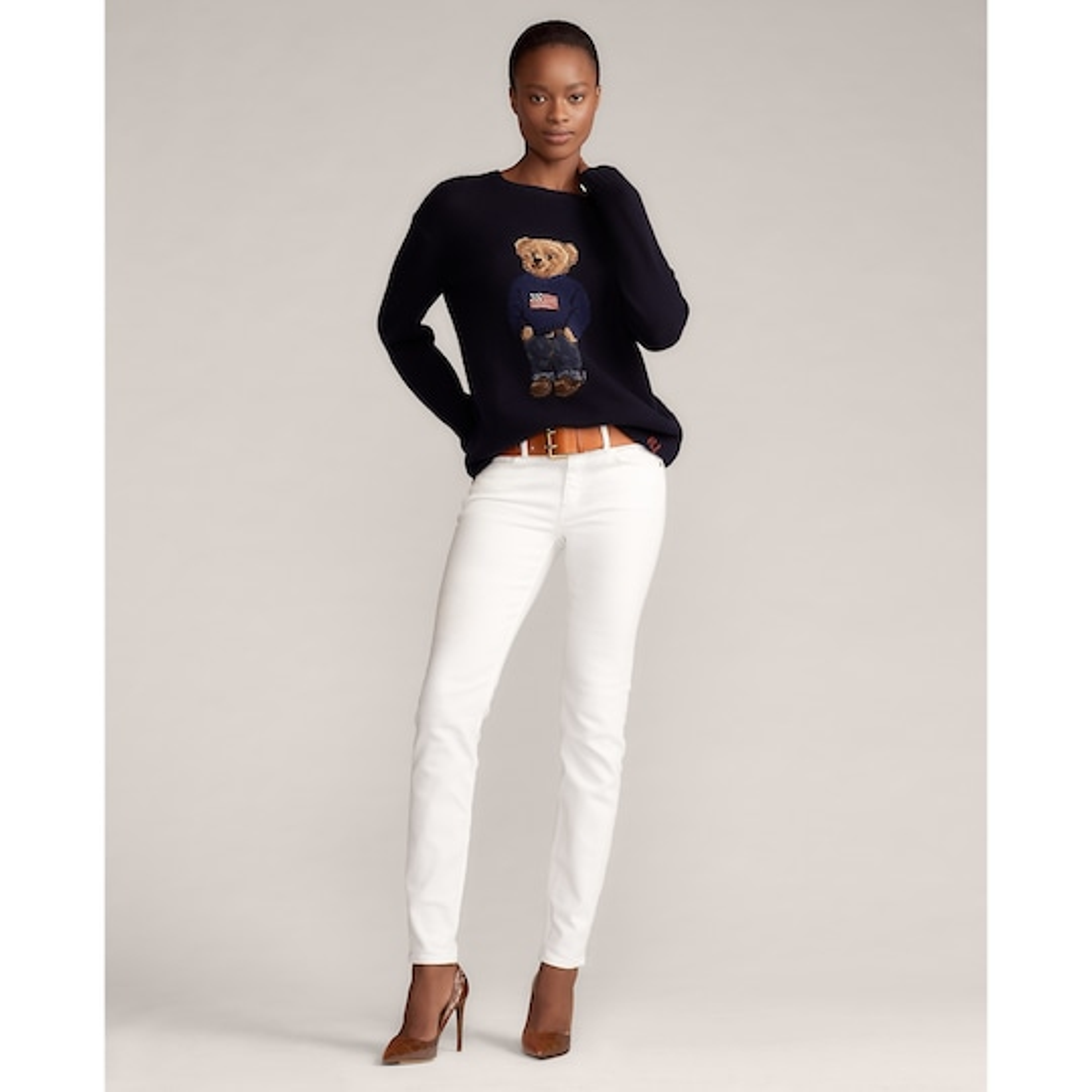 Ralph Lauren Collection Flag Bear Sweater 1