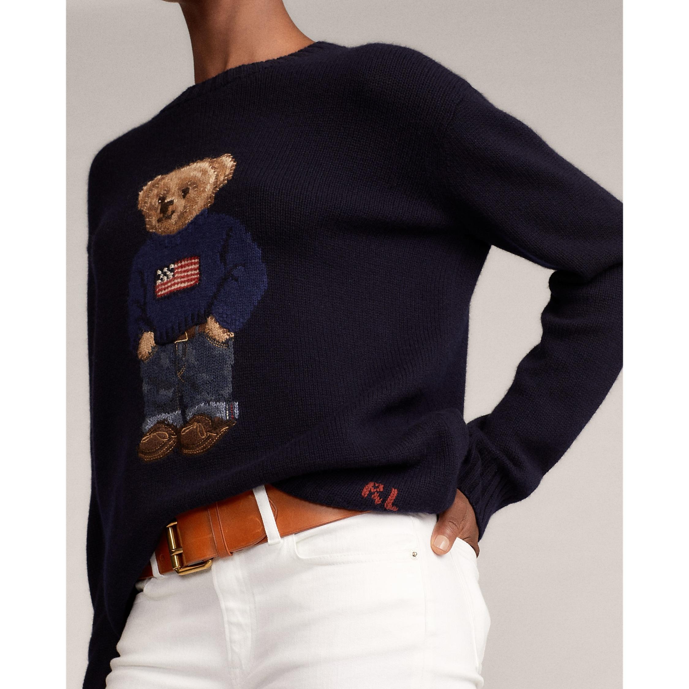Ralph Lauren Collection Flag Bear Sweater 2