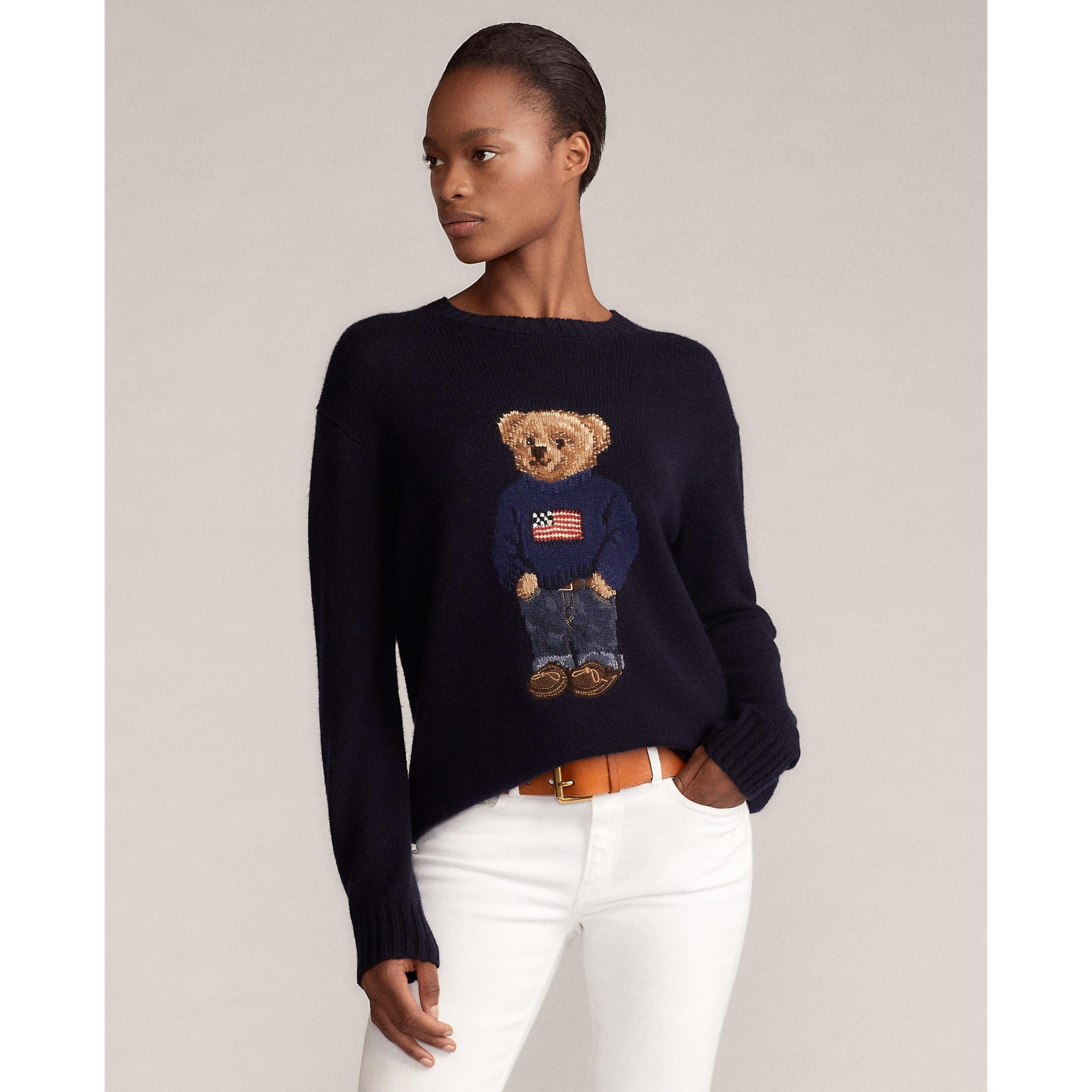 Ralph Lauren Collection Flag Bear Sweater 3