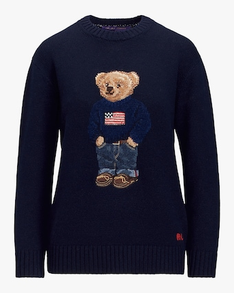 Ralph Lauren Collection Flag Bear Sweater 1