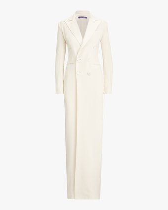 Ralph Lauren Collection Kristian Evening Silk Tuxedo Dress 2
