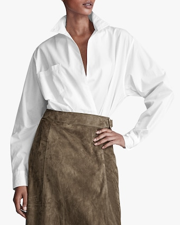 Ralph Lauren Collection Christiane Suede Skirt 2