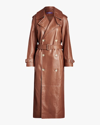 Ralph Lauren Collection Callahan Leather Trench Coat 1