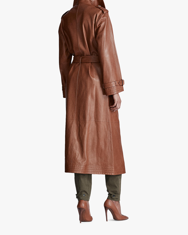 Ralph Lauren Collection Callahan Leather Trench Coat 2
