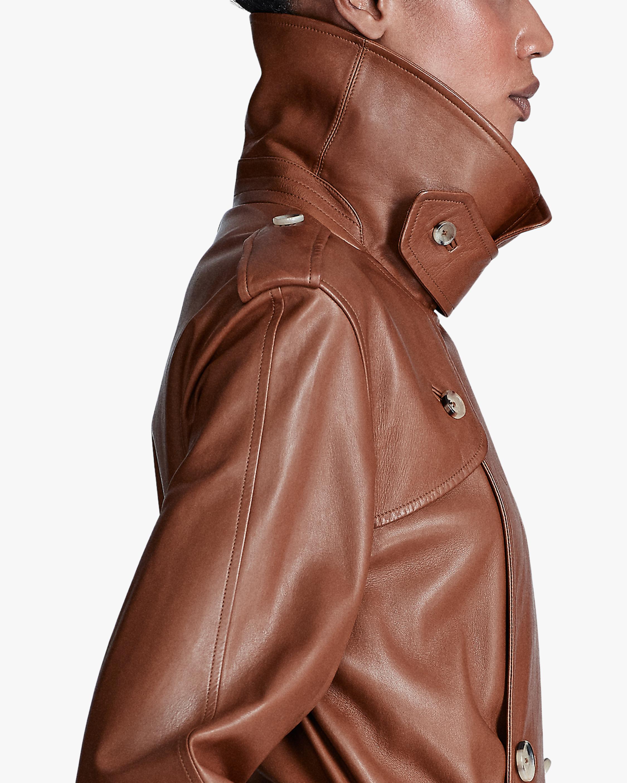Ralph Lauren Collection Callahan Leather Trench Coat 4
