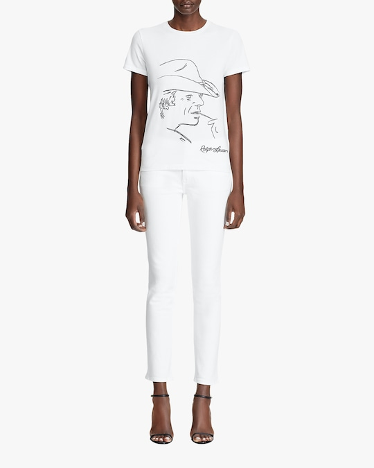 Ralph Lauren Collection Sketch Crewneck T-Shirt 1