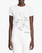Ralph Lauren Collection Sketch Crewneck T-Shirt 2