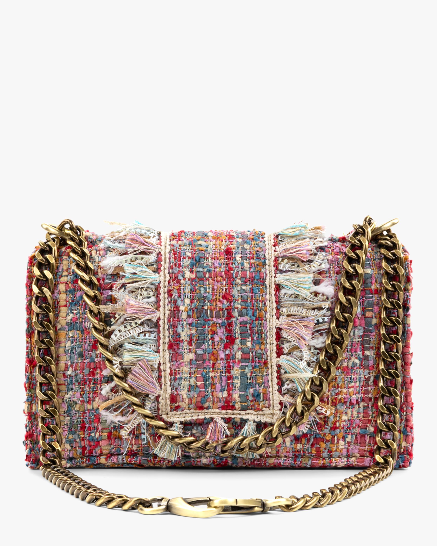 Soho Gold Coin Tweed Handbag