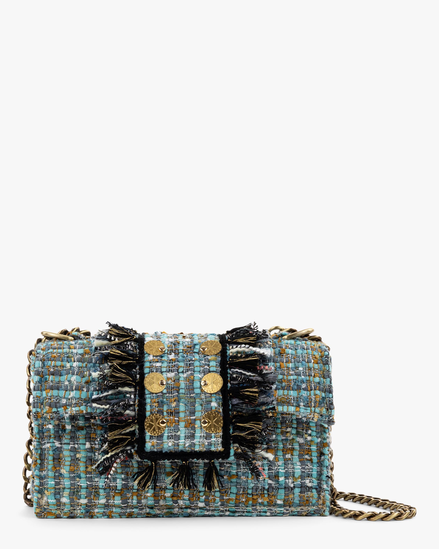 Kooreloo Soho Gold Coin Tweed Handbag 0