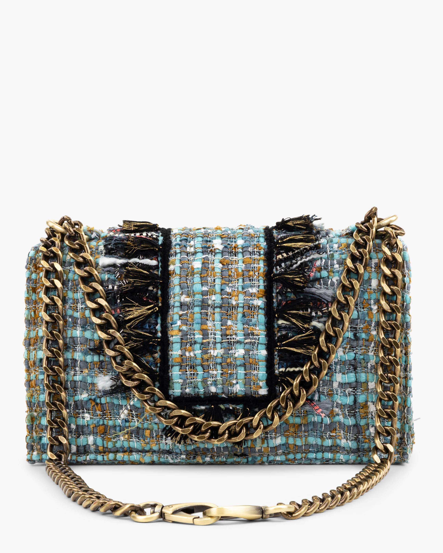 Kooreloo Soho Gold Coin Tweed Handbag 1