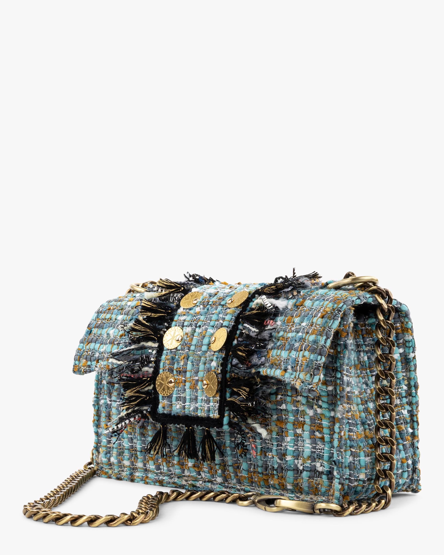 Kooreloo Soho Gold Coin Tweed Handbag 2