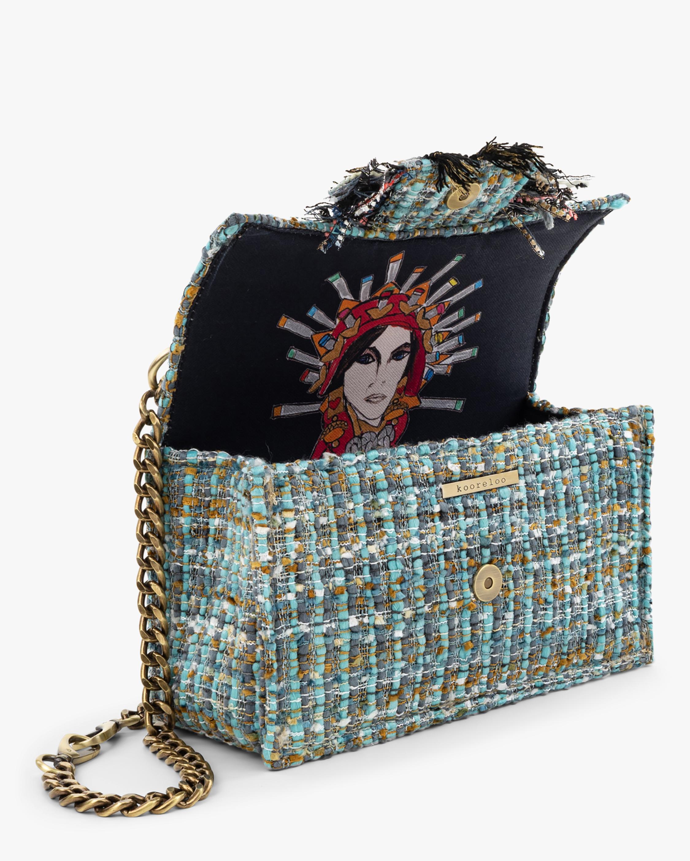 Kooreloo Soho Gold Coin Tweed Handbag 3