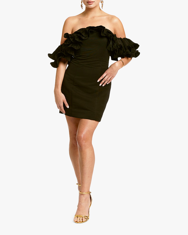 Mestiza Lulu Faille Mini Dress 3