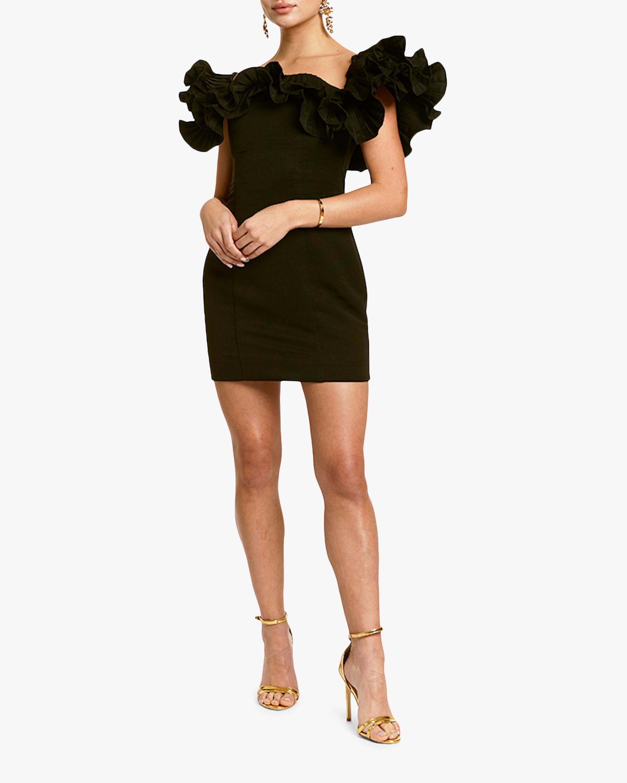 Mestiza Lulu Faille Mini Dress 2