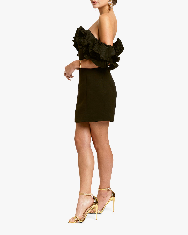 Mestiza Lulu Faille Mini Dress 4