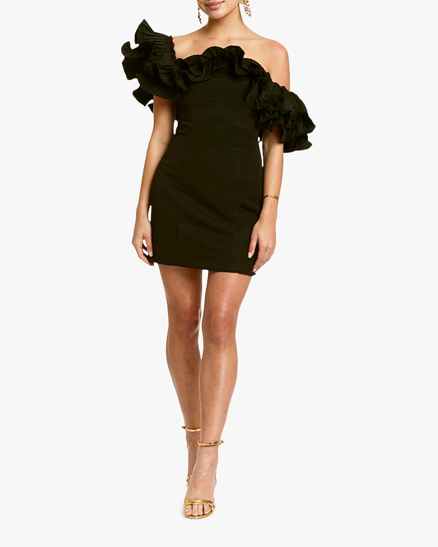 Mestiza Lulu Faille Mini Dress 5
