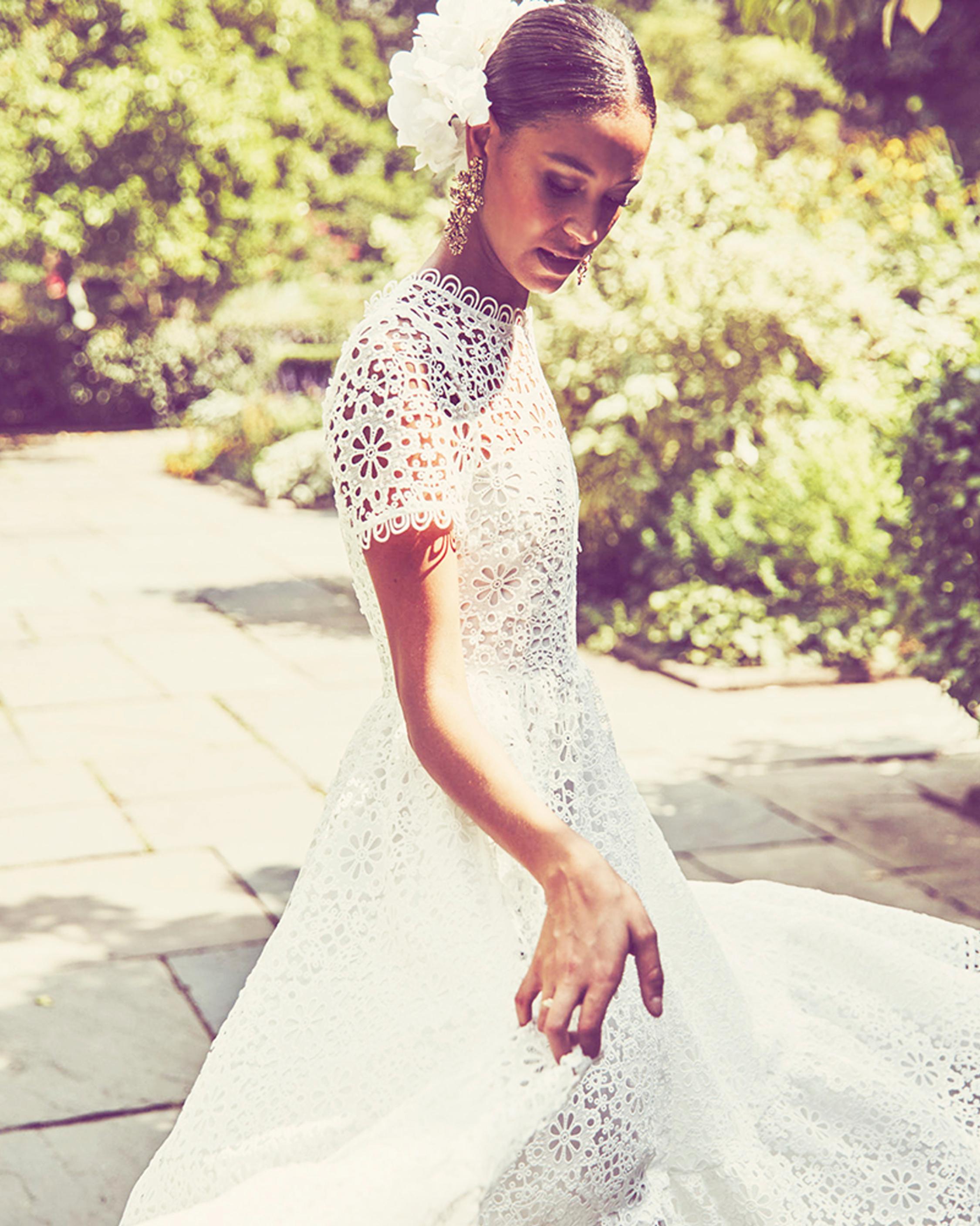 Mestiza Alfama Daisy-Chain Lace Midi Dress 1