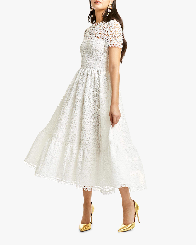 Mestiza Alfama Daisy-Chain Lace Midi Dress 2