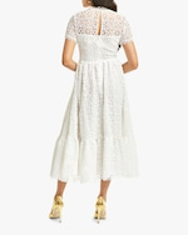 Mestiza Alfama Daisy-Chain Lace Midi Dress 3