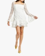 Mestiza Sintra Daisy-Chain Lace Mini Dress 2