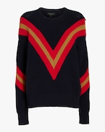 rag & bone Leon Crewneck Sweater 0