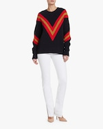 rag & bone Leon Crewneck Sweater 1