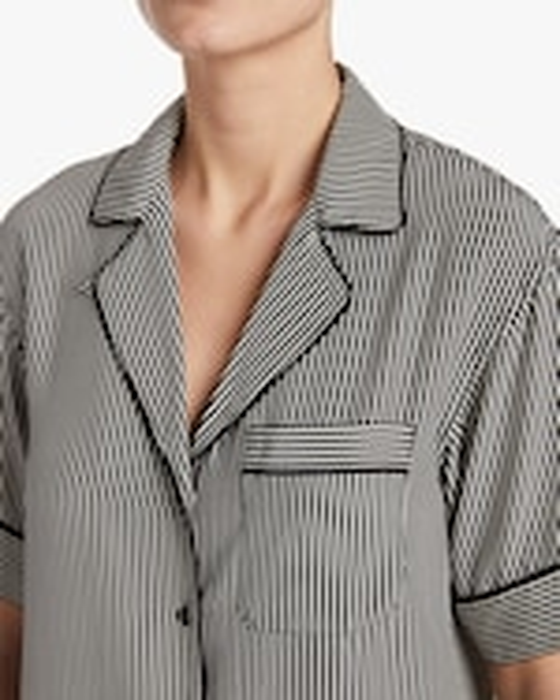 rag & bone Luca Short-Sleeve Pajama Top 3