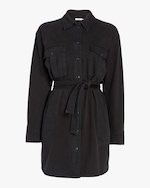 rag & bone Full Placket Shirt Dress 0