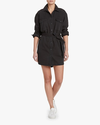 Full Placket Shirt Dress