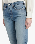 rag & bone Maya High-Rise Ankle Straight Jeans 4