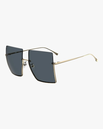 Oversized Frameless Sunglasses