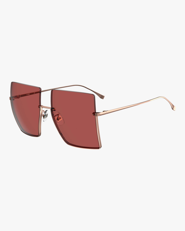 Fendi Oversized Frameless Sunglasses 0