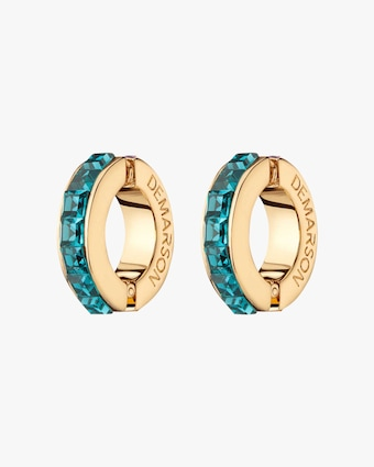 Eden Bi-Color Crystal Ear Cuffs