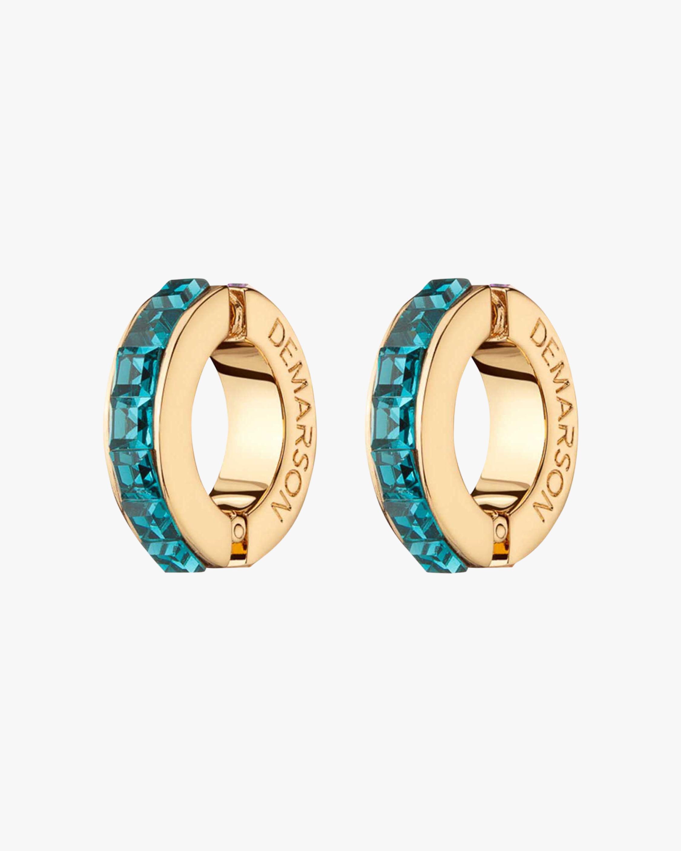 Demarson Eden Bi-Color Crystal Ear Cuffs 1