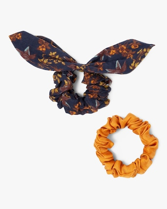 Chan Luu Set-of-Two Outer Space Scrunchies 2