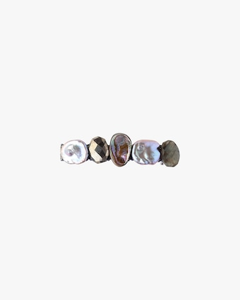 Pearl & Gemstone Barrette