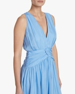Divine Heritage Sleeveless V-Neck Midi Dress 3